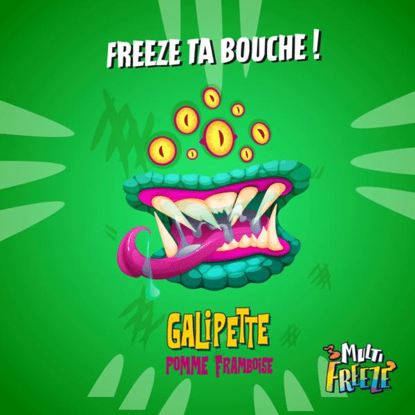 GALIPETTE POMME FRAMBOISE E-Liquide
