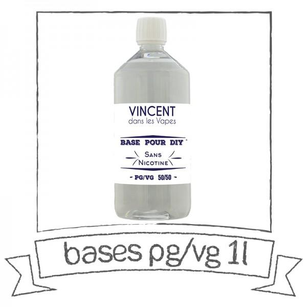 BASE 1 LITRE VINCENT DANS LES VAPES Bases
